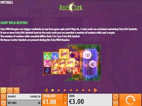 Правила респинов в игре Fairy Gate