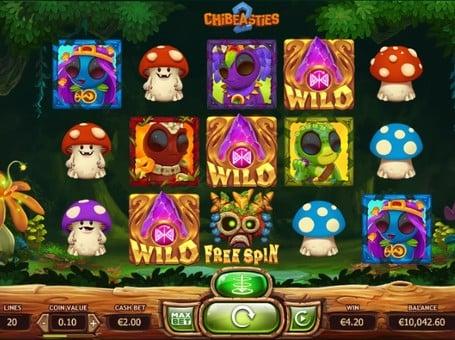 Дикие символы и фриспины игрового автомата Chibeasties 2