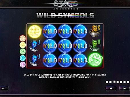 Wild в онлайн слоте Stars Awakening