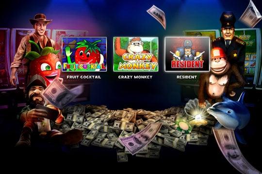 Платные игровые автоматы с выводом денег
