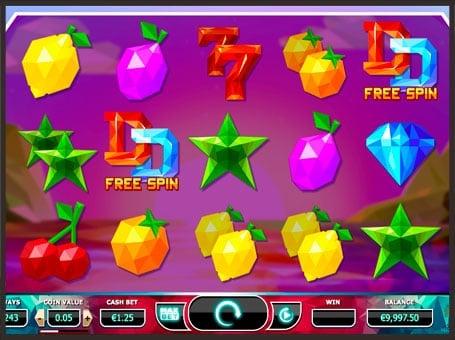 Выпадение дополнительных вращений в игровом автомате Doubles