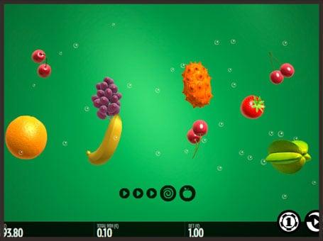 Символы в автомате Fruit Warp