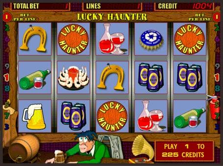 Символы игрового аппарата Lucky Haunter