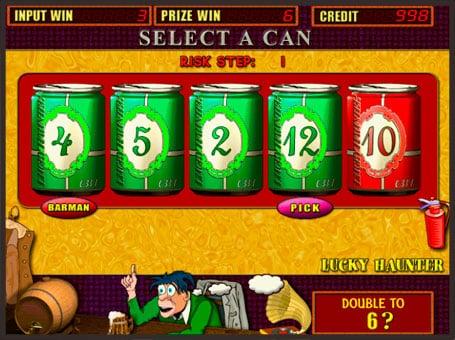 Риск игра на онлайн автомате Lucky Haunter