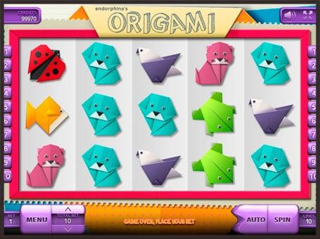 Символы в онлайн слоте Origami