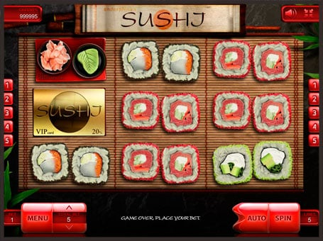 Cимволы в игровом онлайн автомате Sushi