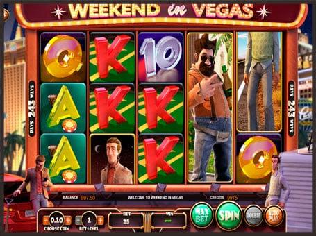 Символы слота Weekend in Vegas